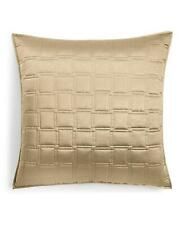 Hotel Collection Burnish Bronze Quilted Euro Pillow Sham Bronze $150