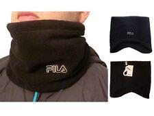 Fila Neck Warmer, Black, Verona, Unisex, Mens/Womens, One Size, Winter/Skiing