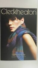 Cleckheaton Pattern Book #3002 Scarf Shrug & Jumper to Knit in California Wool