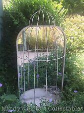 83cm Tall Vintage Style Metal Birdcage Bird Cage Mirror
