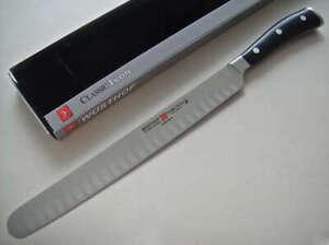 "Wusthof Classic Ikon 10"" HE Ham Slicer new in gift box RRP$330"
