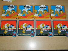 8 Untersetzer - Homer Simpson - Character UK - sehr guter Zustand