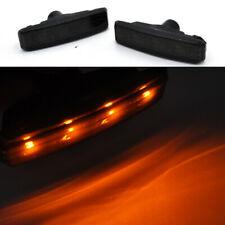 2 smoke LED Side Marker signal Light For 97-03 BMW E39 5s 525i 528i 530i 540i M5