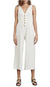 BEC & BRIDGE - Natural Woman Jumpsuit - Off-white Sz 8 / US 4 / UK8