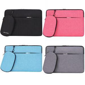 Laptop NoteBook Waterproof Sleeve charger Bag for MacBook Air Pro 11 12 13 15