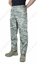 Digital Camouflage BDU Combat Trousers - US Army Military Repro Cargo Pants New