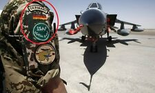NATO ISAF ALLIED COALITION FORCES OPERATOR PATCH: German Flag w/Tab ISAF Set