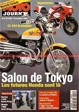 MOTO JOURNAL 1201 Test HONDA GL 1500 Gold Wing SE HARLEY DAVIDSON 1340 Road King