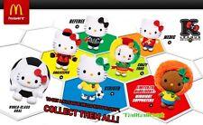 McDonald's x Hello Kitty 2014 K League Collector's Kit (Set of 7) World Cup Fifa