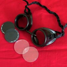 Steampunk Welding Oxy-Acetylene Goggles Eye Cup glasses biker motorcycle cyber