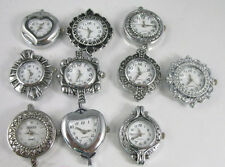10 PCS Mixed Silver Quartz Watch Face Charms For Beading R11607-17