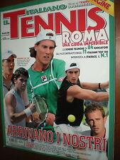 Il Tennis Italiano.FABIO FOGNINI, SIMONE BOLELLI, ANDREAS SEPPI,POTITO STARACE,i
