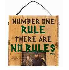 Number One Rule Sign Robertson Family Wisdom Duck Commander Inc Big Sky Carvers