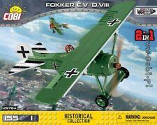 COBI Fokker E.V (D.VIII) ( 2976A  ) 155  blocks WWI German fighter