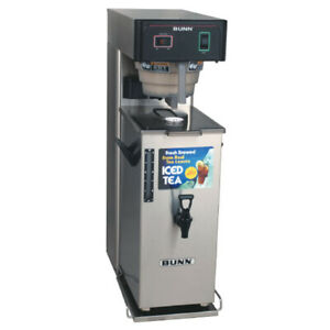 """TB3Q with TD4T Server, 3-Gallon Quick Brew Iced Tea Brewer with 29"""" Trunk (120v)"""