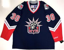"HENRIK LUNDQVIST CCM REPLICA NEW YORK RANGERS ""LIBERTY"" JERSEY XXL NEW WITH TAGS"
