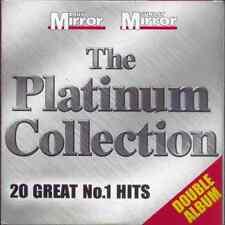 PLATINUM COLLECTION: 20 GREAT NO 1 HITS: PROMO 2 CD SET (2004) T-REX, 10CC ETC