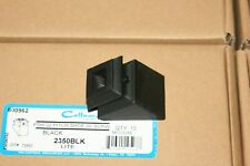 """Lot of 50 Angled Base Shoes with Set Screw for 1/2"""" Iron Baluster (Flat Black)"""