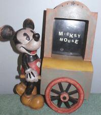 figurine statuette Mickey retro cadre photo 20 cm charpente disney