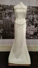 Robes de mariée ivoire en satin