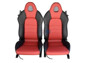 2005 2004 2003 2002 2001 2000 Honda S2000 Seats Black and Red Leather