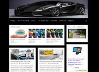 Geld verdienen - Webprojekt, Nischenseite, Blog zum Thema Kfz, Automobile etc.