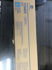 Konica Minolta Toner Ink TN711C Cyan Boxed New