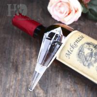 Crystal Bottle Stopper Glass Wine Decor Safe Material Zero-Pulltion Wine Stopper