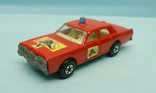 WO11/15/49 MATCHBOX / SERIE 75 / SUPERFAST / 59/73 MERCURY FIRE CAR