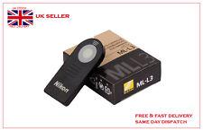 ML-L3 MLL3 Control Remoto Inalámbrico para Nikon D610 D5300 D5200 D3200 D90 D7100 J1 V2 UK
