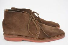 POLO RALPH LAUREN 11.5 D CHUKKA BOOT BROWN SUEDE MADE IN ENGLAND