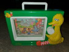 Sesame Street Music Box Wind Up Musical TV Preschool Muppet Big Bird vintage toy
