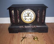 Antique Ansonia Open Escapement  Mantle Clock Circa 1900's Serviced