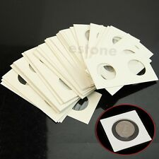 "Hot 50pcs 27.5mm Lighthouse Stamp Coin Holders Cover Case Storage 2X2"" Flip"