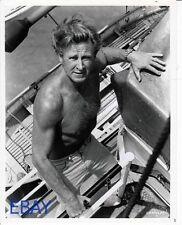 Lloyd Bridges barechested VINTAGE Photo Around the World Under the Sea