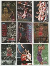 Scottie Pippen 1997-98 TOPPS FINEST GOLD RARE CARD & OTHER INSERTS