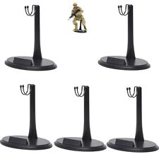 5PCS 1/6 12 inches Action Figure Doll Base Display Stand U Type Detachable