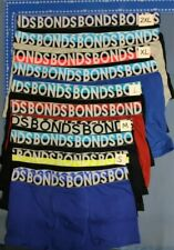 6 X MEN'S BONDS UNDERWEAR Trunks Boxer Cotton Bulk Size S-XXL