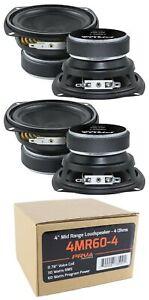 "4x 4"" PRV Mid Range Loud Speaker 4 Ohm 240W Pro Car Audio"