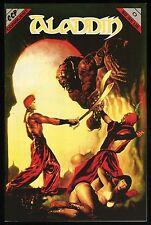 Aladdin # 0 Conquest Press Comic Rare Marcus Boas cover art featuring Betty Page