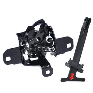 Fit for Volkswagen Golf Jetta Hood Lock Latch Release Pull Rod Handle 1J0823509E