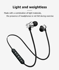 Bluetooth Headphones with mic Wireless Headset Sports Gym iPhone 11 11 Pro Max