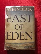 EAST OF EDEN by John Steinbeck True 1st Edition with Typo 1952 w/original DJ