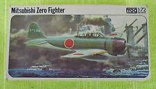 maquette frog 1/72e mitsubishi zero fighter ref F219