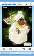 Digital Topps Disney Collect Trader Mama Odie Rare Princess Frog Characters Card