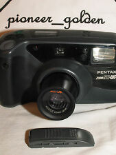 PENTAX ZOOM 90WR WATER RESISTANCE CAMERA w/built-in zoom lens,date, REMOTE