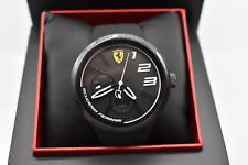 Scuderia Ferrari FXX 0830472 Silicone Men's Watch In Black RRP £125