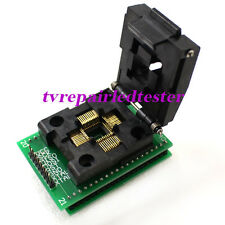 SXA-QFP44 TQFP44 to DIP40 IC Test Converter Socket Chip Support  ISP JTAG MPU-51