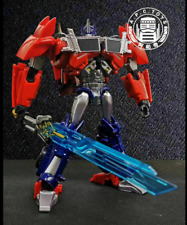 New Transformers APC Toys First Edit TFP Attack Prime Chrome !