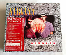 NIRVANA SINGLES BOX JAPAN EDITION 6CD BOX 2006 w/Postcard & Poster KURT COBAIN